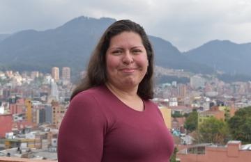 Pilar Sáenz, coordinadora de proyectos en tecnología y privacidad de la Fundación Karisma.