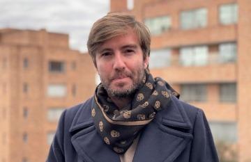 Santiago Wills (Colombia), ganador de la Beca Michael Jacobs 2021. Foto: Cortesía.