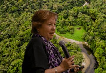 Ángela Posada-Swafford, periodista científica y escritora colombiana.