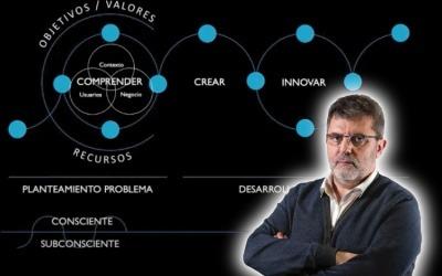 Mario Tascón impartió el taller 'Innovación para Periodistas' virtualmente en septiembre de 2020.