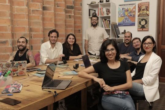 El Surtidor mezcla periodismo de investigación con una poderosa propuesta gráfica y de redes sociales. Foto: Cortesía El Surtidor.