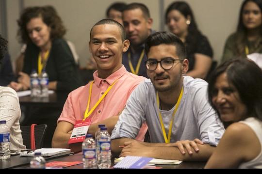 Durante el Festival Gabo, en octubre de 2018, se realizó en Medellín el taller Periodismo de soluciones: la historia completa, con apoyo de la Red de Periodismo de Soluciones (SJN, por sus siglas en inglés). Foto: David Estrada / FNPI.