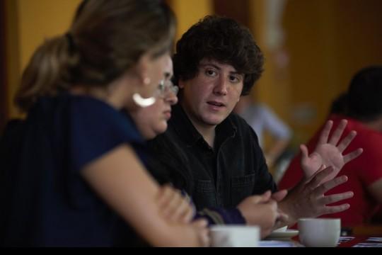 Fabrice Le Lous, periodista francés radicado en Costa Rica, y miembro del equipo de Periodismo de Soluciones del diario La Nación.