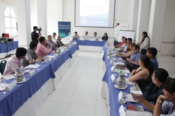 Taller¡A nuestra salud! Cómo investigar y reportear temas de salud en Colombia.