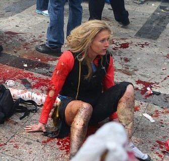 Fotografía de los atentados en la maratón de Boston: John Tlumacki / The Boston Globe
