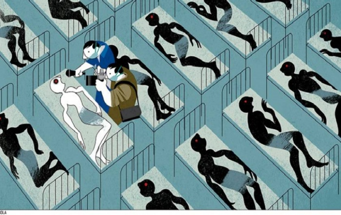 Ilustración: André Carrilho