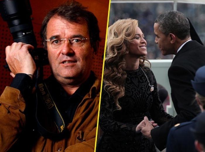 Pascal Rostain a la izquierda. Beyonce y Obama, a la derecha / Public.fr