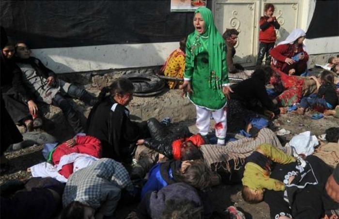 La foto de Massoud Hossaini / AFP