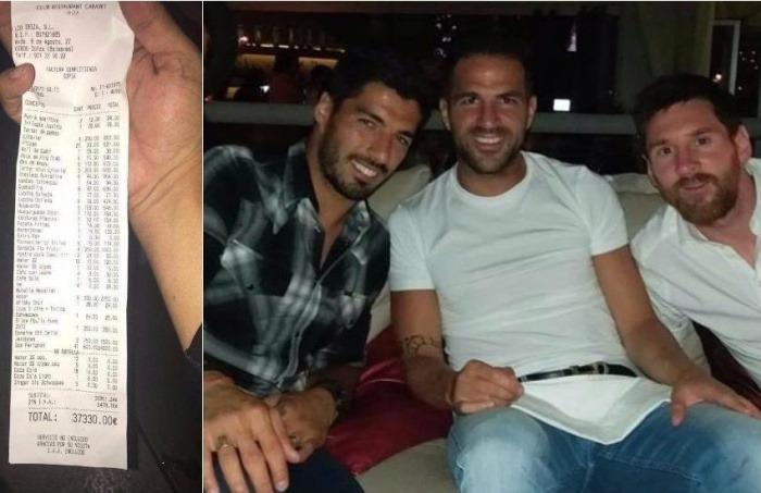 ¿Es cierto que Messi pagó una factura de 37.000 euros en un bar de Ibiza?