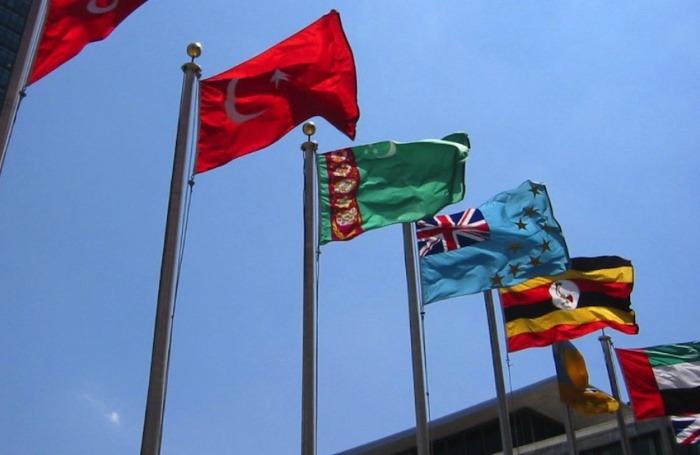 Banderas de la ONU / Foto: worldislandsinfo.com en Flickr / Usada bajo licencia Creative Commons