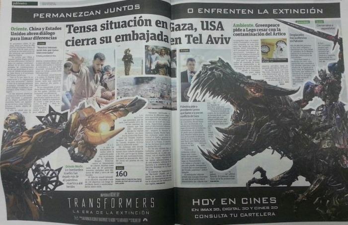 Edición 10 de Julio de 2014 - Publimetro, Bogotá
