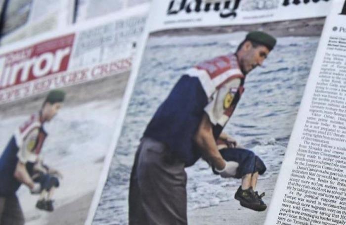 Diarios de todo el mundo abrieron hoy con la misma dolorosa imagen / Fotografía: Cortesía elnuevodia.com