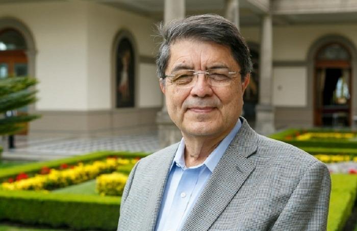 El ganador del Premio Cervantes 2017, Sergio Ramírez Mercado.