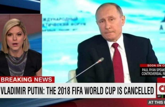 ¿Es cierto que Putin canceló el Mundial por la guerra en Siria?... ¡Responde nuestro quiz de noticias!