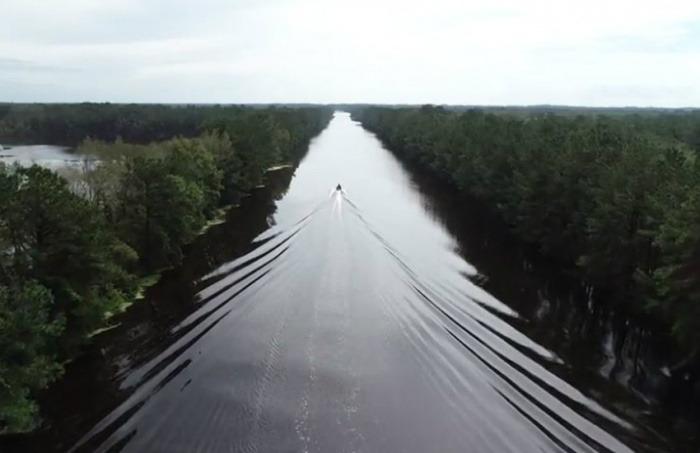 ¿Es auténtica esta fotografía de una autopista inundada en Estados Unidos tras el paso del huracán Florence?... ¡Responde nuestro quiz de noticias!
