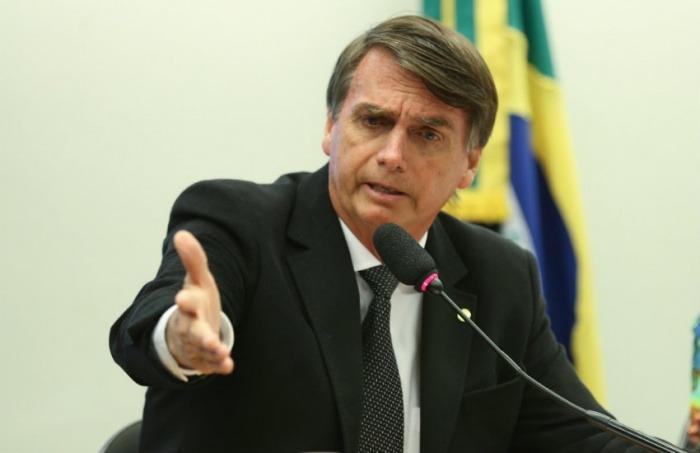 Jair Bolsonaro, presidente electo de Brasil   Fotografía: Agência Brasil Fotografias en Flickr. Usada bajo licencia Creative Commons.