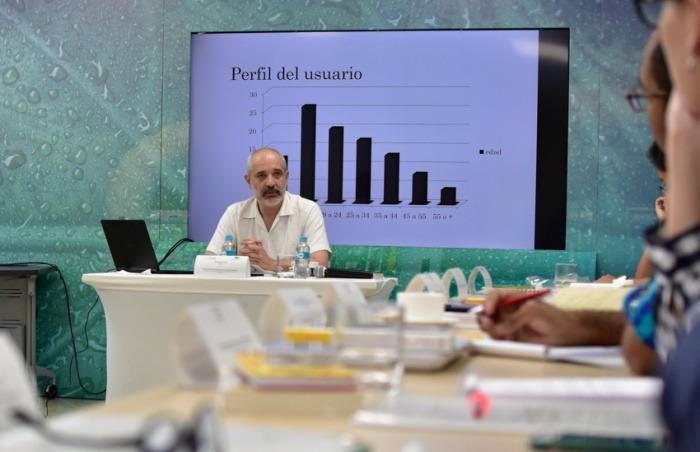 Daniel Moreno, director y fundador de Animal Político. Foto: Carlos Torres / FNPI.