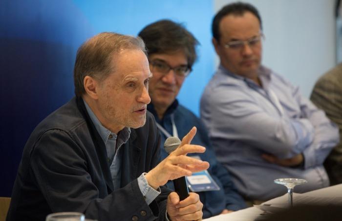 Jean-François Fogel, miembro del Consejo Rector de la FNPI. Foto: Rafael Bossio / FNPI.
