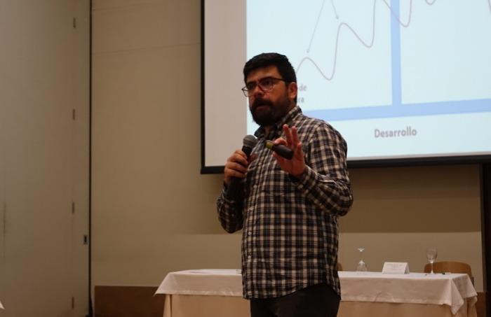 Aldemar Moreno, editor jefe de la revista Dinero.