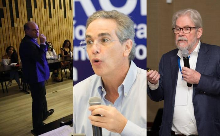 Alberto Bello, Luis Miguel González y Michael Reid / FNPI.