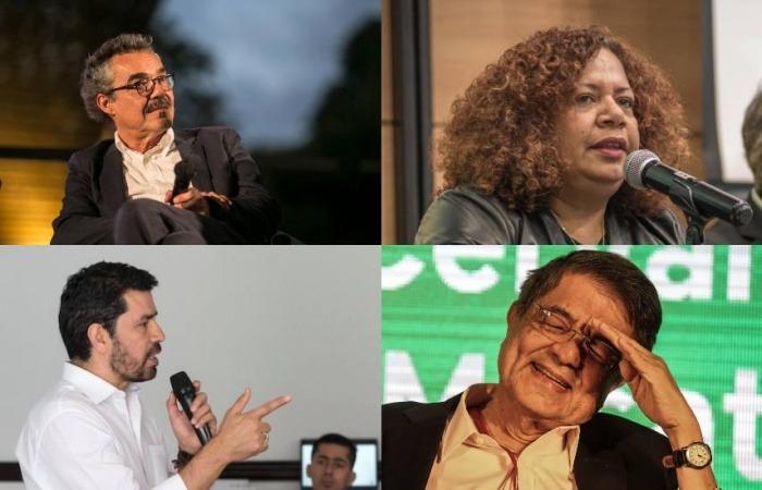 Gonzalo García Barcha, Luz Mely Reyes, Ernesto Cortés y Sergio Ramírez / FNPI
