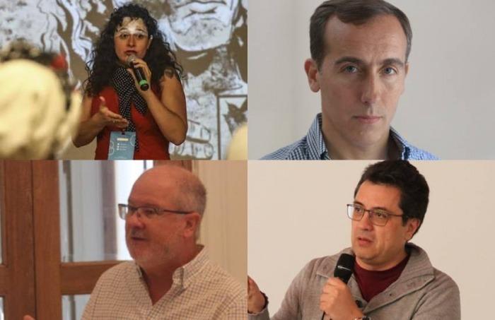 Natalia Viaja, Hugo Alconada Mon, Gerardo Reyes y Daniel Lizárraga / FNPI.