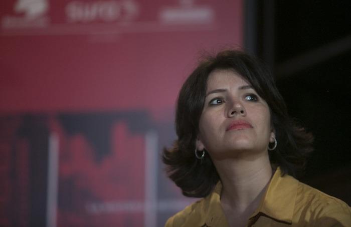 Sabrina Duque, autora de 'VolcáNica, crónicas desde un país en erupción'. Foto: David Estrada Larrañeta / FNPI.