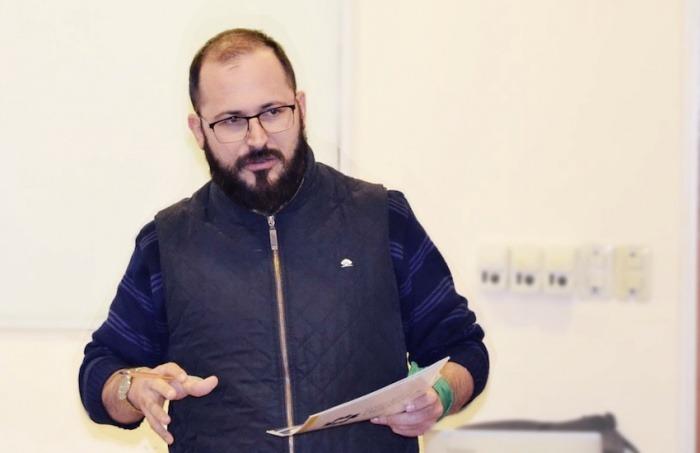 Ernesto Picco es docente de tiempo completo en la Universidad Nacional de Santiago del Estero (Argentina). Foto: Cortesía UNSE.