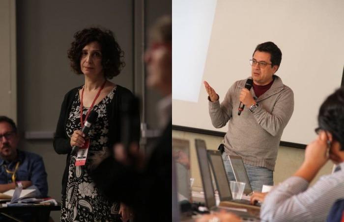Tina Rosenberg y Daniel Lizárraga. Fotos: Emmanuel Upegui/ Mateo G. Rivas- FNPI.