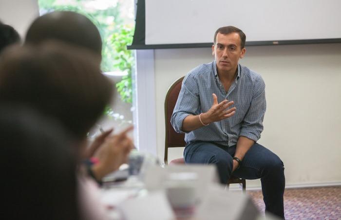 Hugo Alconada Mon, prosecretario de redacción de La Nación (Argentina). Foto: André Bueno / FNPI.