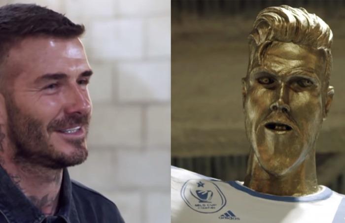 ¿Es cierto que David Beckham rechazó la estatua que L. A. Galaxy hizo en su honor?... ¡Responde nuestro quiz de noticias!