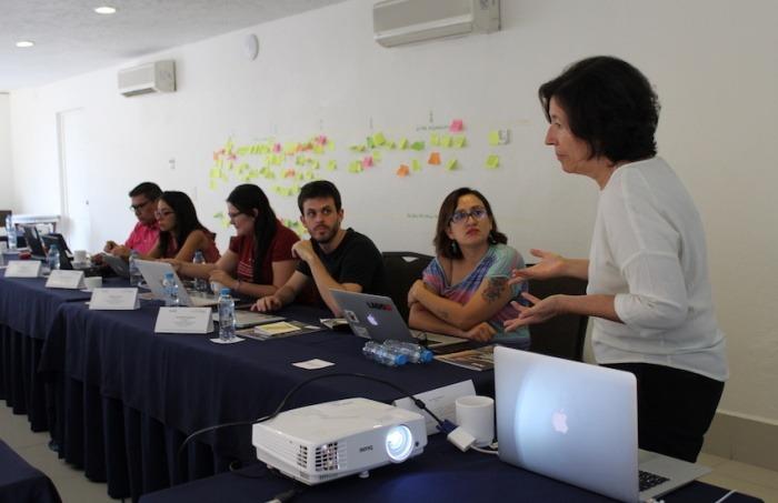 María Teresa Ronderos, miembro del consejo rector de la FNPI. Foto: Carlos Quintero Juan.
