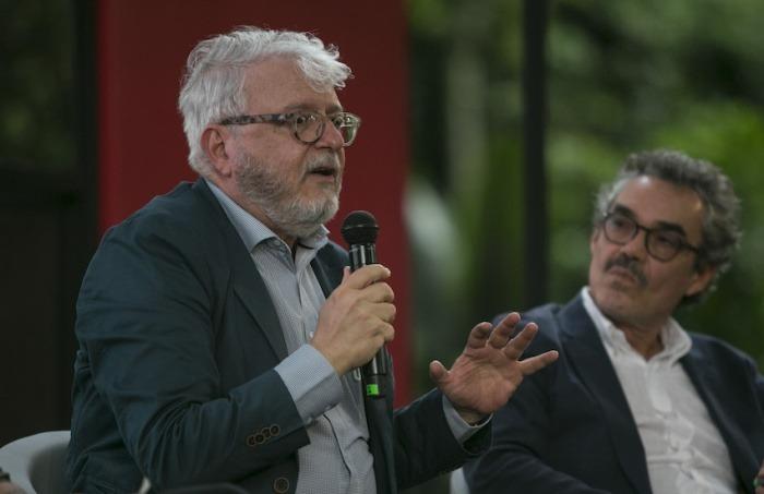 Alberto Abello Vives (D. E. P.) participó en el Festival Gabo 2018. Foto: David Estrada Larrañeta / FNPI.