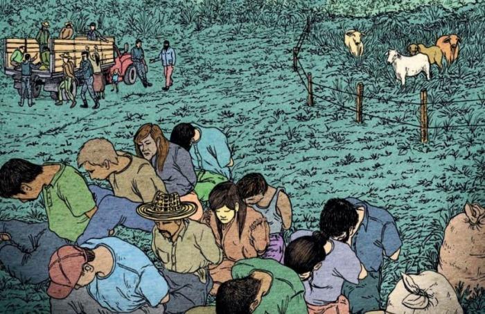 Portada del libro. Ilustración: Tobías Arboleda.