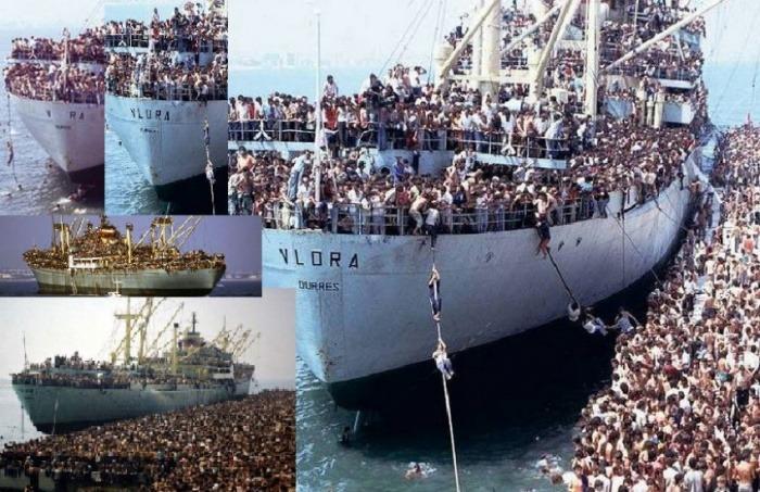 ¿Realmente muestran estas fotos a migrantes tratando de huir de Europa hacia Suramérica en la II Guerra Mundial?... ¡Responde nuestro quiz de noticias!
