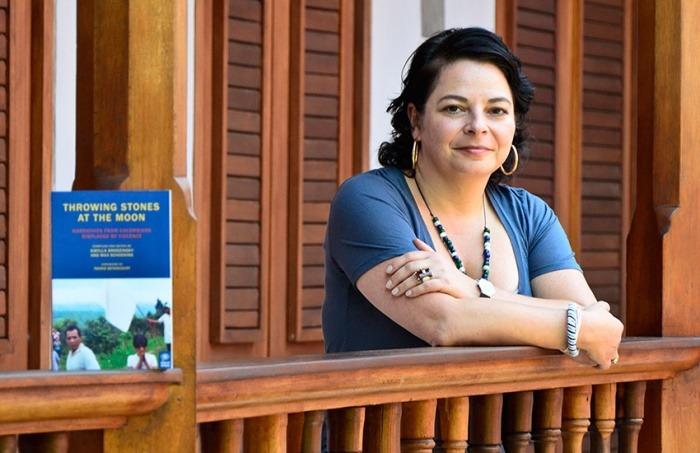 Sybilla Brodsinsky en el Hay Festival Cartagena. Álvaro Delgado/Archivo FNPI