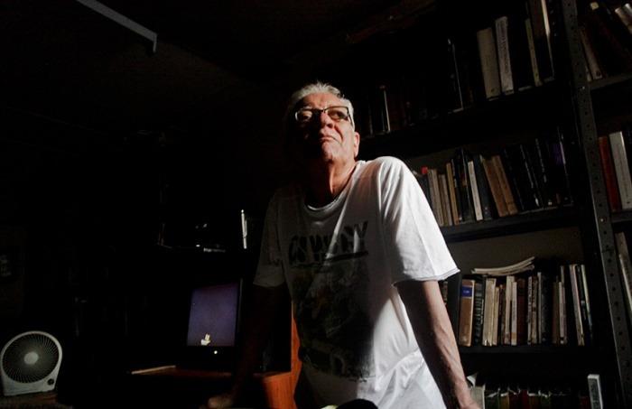Ramón Illán Bacca, en su casa.Barranquilla, Colombia. Joaquín Sarmiento/Archivo FNPI