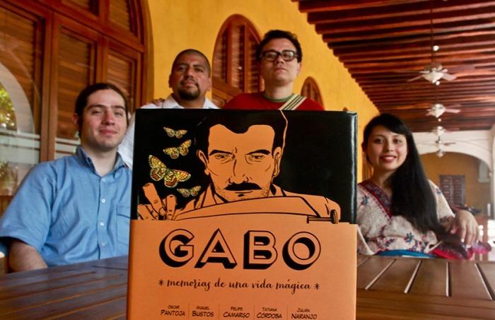 """García Márquez """"Gabo, memorias de una vida mágica"""" Hay Festival Cartagena. Joaquín Sarmiento/ Archivo FNPI"""
