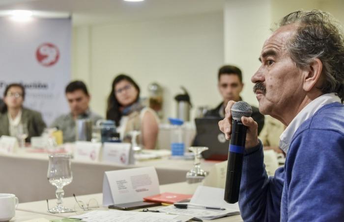 Jorge Cardona, editor general de El Espectador. Foto: Guillermo Legaria / Fundación Gabo.
