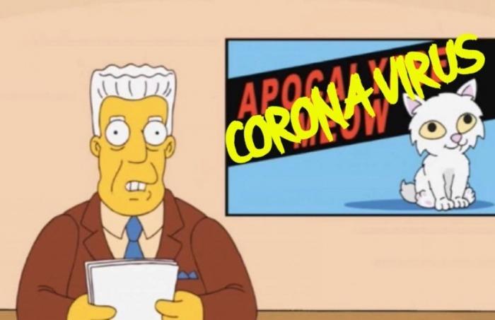 ¿Realmente esta imagen hace parte del episodio 21 de la temporada 4 de Los Simpson, emitida en 1993?... ¡Responde nuestro quiz semanal de noticias, edición especial del coronavirus!