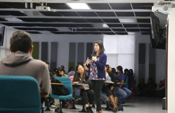 Zulma Cucunubá, investigadora del Centro de Análisis de Infecciones Globales del Imperial College. Foto: Cortesía U Rosario.