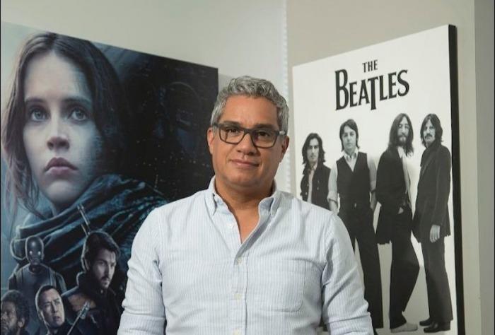 Leonardo Aranguibel, director del cortometraje La peste del insomnio. Foto: Jorge Parra.