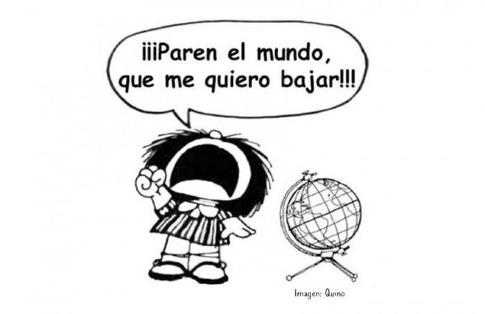 ¿Realmente dijo Mafalda, el personaje de Quino, esta popular frase?... ¡Responde nuestro quiz de noticias!