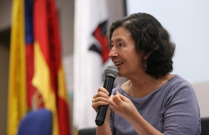 María Teresa Ronderos, directora del CLIP. Foto: Universidad del Norte.