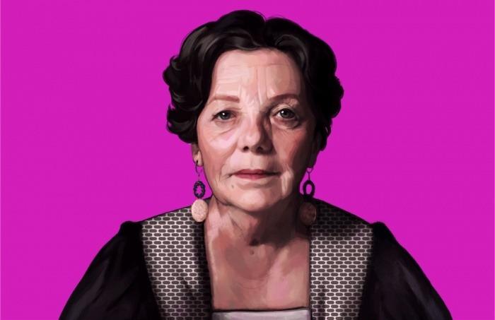 Graciela Iturbide, fotógrafa mexicana. Ilustración: Silvana Bossa.