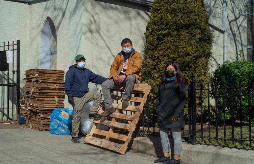 La historia de Conexión Migrante contó cómo migrantes en EE.UU. apoyaron a otros a quienes la pandemia golpeó con fuerza. Foto: Conexión Migrante