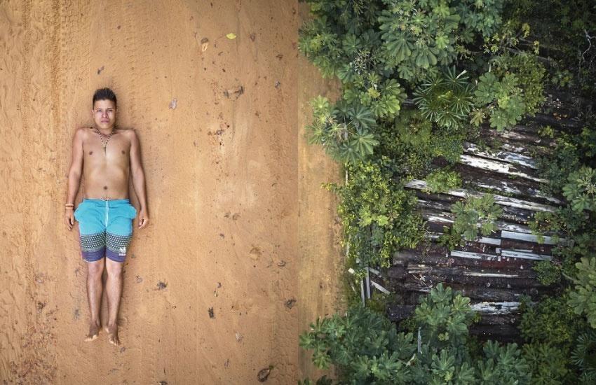 """Las imágenes de Pablo Albarenga para """"Defensores de la Selva"""" causaron impacto a nivel mundial."""
