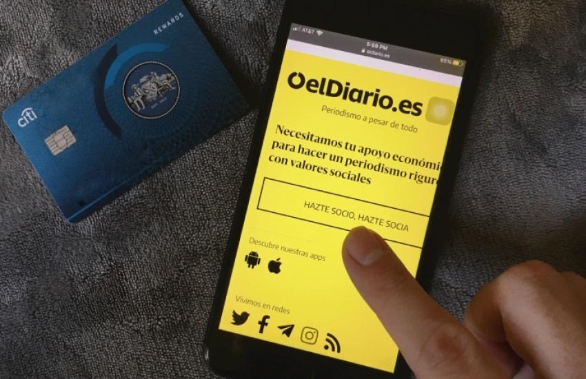 Medios como elDiario.es registraron mayor tráfico y aumentaron sus ingresos durante la pandemia.