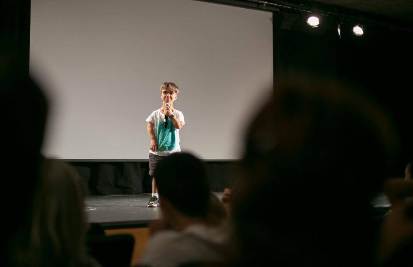 Estreno del documental La Aventura de Lucas en 2016. Fotografía: Fundación Alpe.