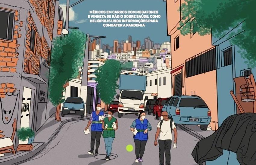 Jornalismo em quadrinhos é uma alternativa que pode ser utilizada para contar uma história de soluções. Ilustração: Alexandre De Maio/Outride.rs